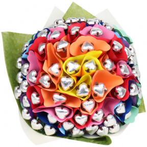 Rainbow Sixty Chocolate Bouquet