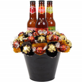 Craft Beer Chocolate Bouquet Large
