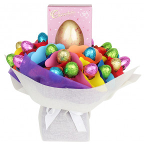 Strawberry And Cream Gourmet Egg Bouquet