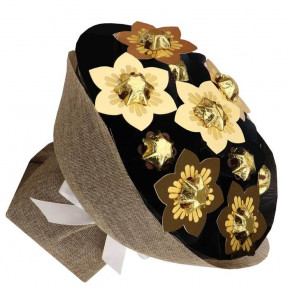 Golden Posy Chocolate Bouquet