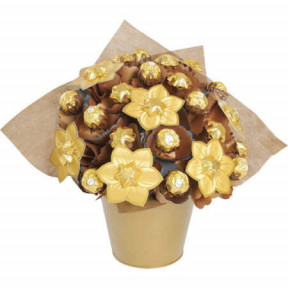 Golden Medium Chocolate Bouquet1