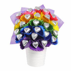 Rainbow Chocolate Bouquet Small