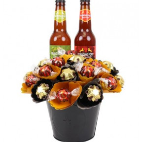 Craft Beer Chocolate Bouquet Medium