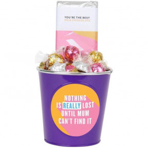 'Nothing Is Really Lost Until Mum Can'T Find It' Choc Block Bucket