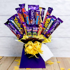 The Deluxe Cadburys Chocolate Bouquet