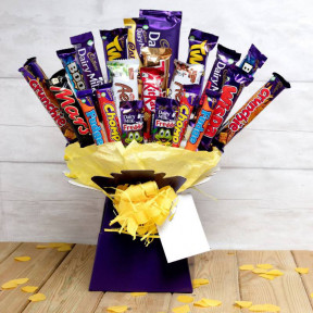 The Super Deluxe Chocolate Bouquet