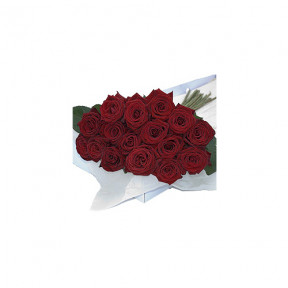 Flower Box Red Roses 30 pcs