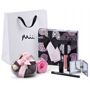 Mii Luxe make-up set met Godiva and Roos