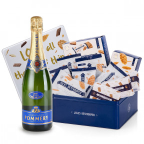 Pommery Brut And Jules Destrooper Office Box