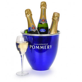 Ice Bucket Filled With Pommery Champagne