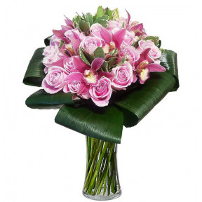 Beautiful Roses And Orchids (small)