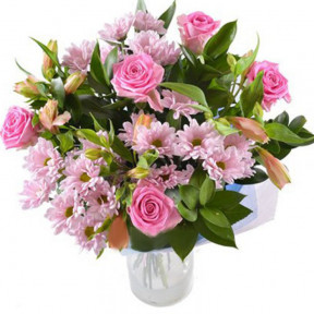 Bouquet With Pink Flowers (small)