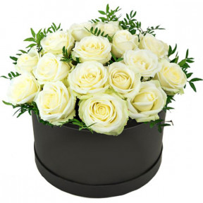 White Roses Arrangement (small)