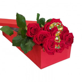 Send Roses In A Box