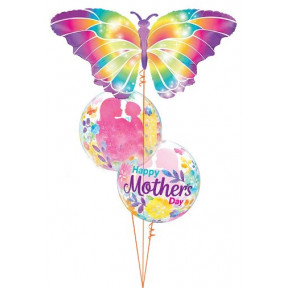 Rainbow Butterfly Mother's Day Bouquet