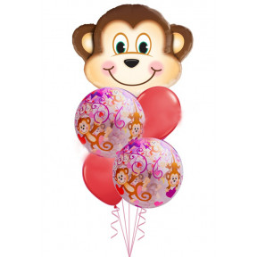 To My Monkey Love Bouquet