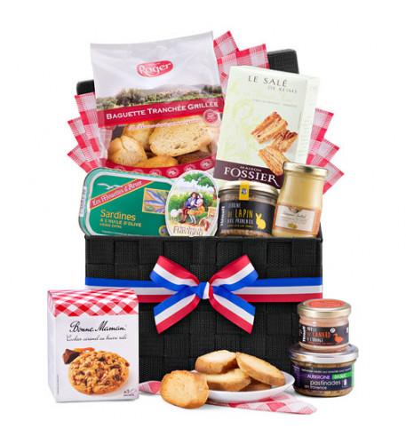 French Gourmet Picnic Hamper