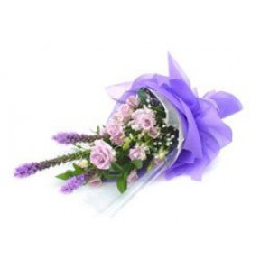 Shades Of Purple Bouquet (Small)