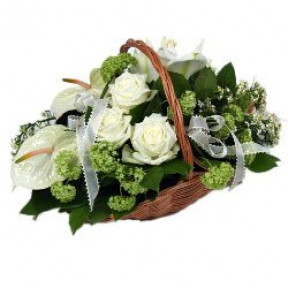For My Love Flower Basket (Small)