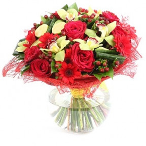 Heart Full Of Happiness Bouquet (Small)