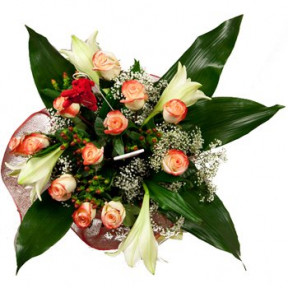 Frost And Flame Bouquet (Small)
