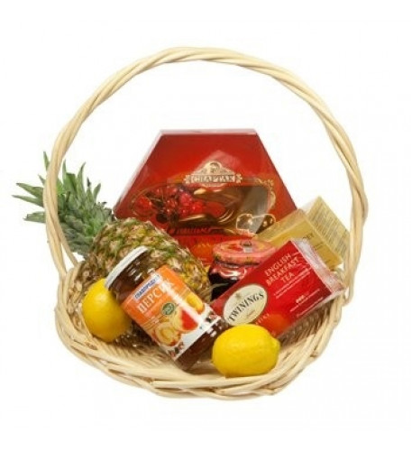 Tea And More Basket (Small)