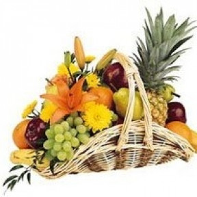Fruit And Flower Basket (Small)