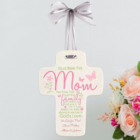 Blessing For Mom Cross ()
