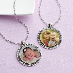 Contemporary Photo Pendant