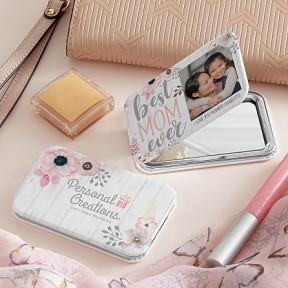 Best Mom Ever Photo Purse Mirror