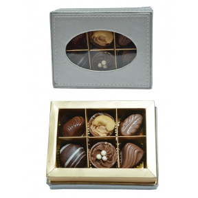 Gourmet Chocolates- Silver - Box of 6