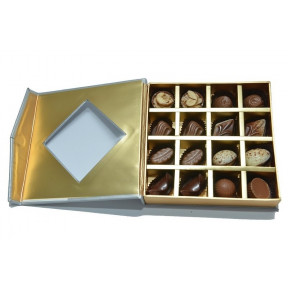 Gourmet Chocolates- Silver - Box of 16