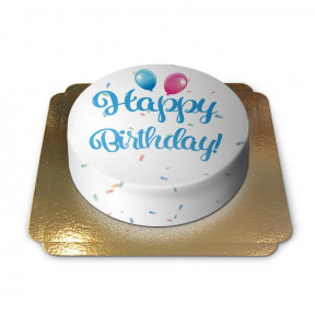Birthday Cake - blue (Medium)