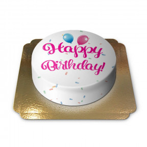 Birthday Cake - Pink (Medium)