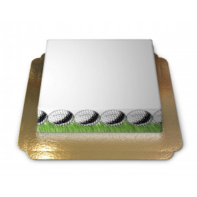Cake-Photo Frame theme Golf (Small)