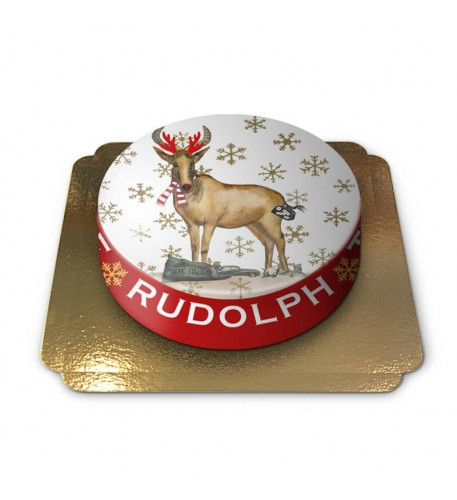 Cake Reindeer Rudolph (Small)