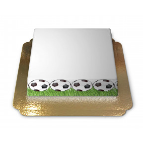 Cake-Photo Frame Football theme (Medium)