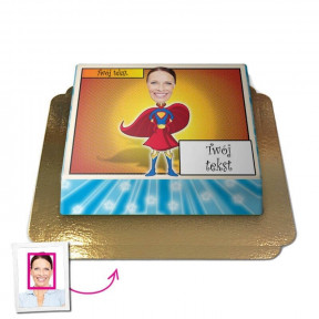 Superwoman - Face-Cake (Medium)