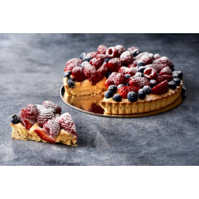 Fresh Triple Berry Tart