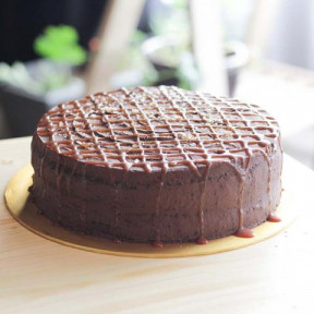 Chocolate Salted Caramel Cake 9 inch