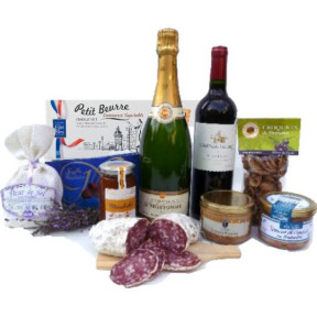 French gift basket