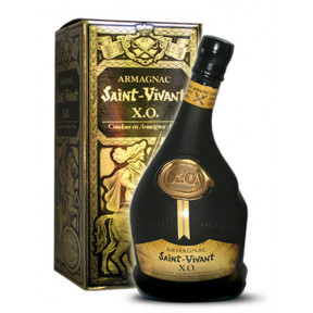 Saint Vivant ''Armagnac X.O,'' Luxury Gift Box, 70cl