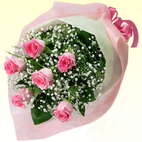 Bouquet of pink roses - 2