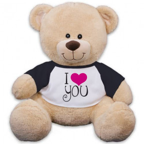 I Love You Sherman Bear - 17 (11 inch teddy)