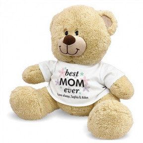 Best Mom Ever Sherman Teddy Bear (11