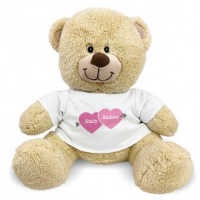 Love Arrow Personalized Teddy Bear (11 inch teddy)