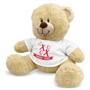Personalized Xoxo Sherman Bear (11 inch teddy)