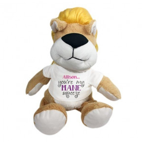 Personalized You'Re My Mane Squeeze 10 Lion (11 inch teddy)