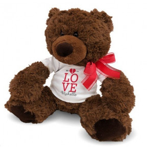 Personalized Love Coco Bear (11 inch teddy)