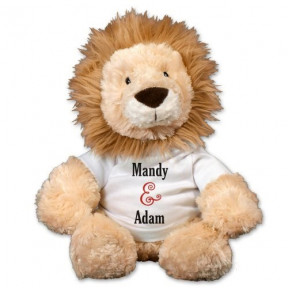 Couples Lion - 12 (11 inch teddy)